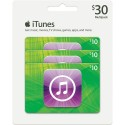 iTunes Gift Card - Multipack - $30