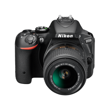 NIKON  SLR D5500 WITH 18-55 MM